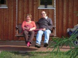 Glückliche und erholte Gäste der Arche Alfsee Ferienwohnung