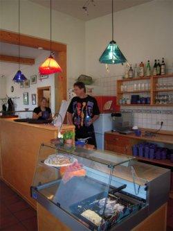 Eindrücke Künstler-Cafe